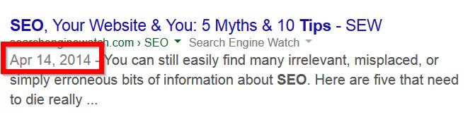 google-dato-visning